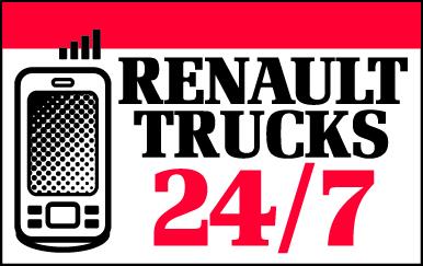 Le service d'assistance non-stop de Renault Trucks